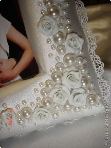 Рамка в подарок на День Святого Валентина и в общий тон прошедшей свадьбы фото 4