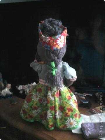 Хохлушка Галя по изготовлена по мастер классу от Ликмы.....Спасибо Ликмочке ОГРОМНОЕ!!!!!!!! фото 2