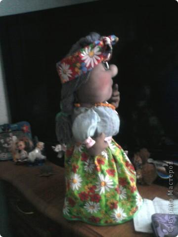 Хохлушка Галя по изготовлена по мастер классу от Ликмы.....Спасибо Ликмочке ОГРОМНОЕ!!!!!!!! фото 3