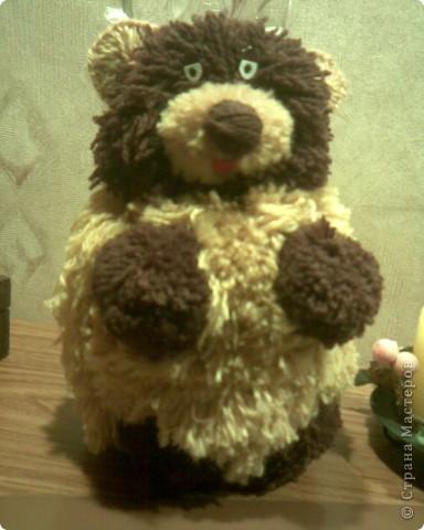 Медведь из ниток своими руками - Veproekt.ru