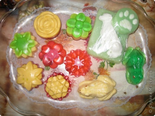 Мыло, сваренное из английской основы SLS-free. фото 1