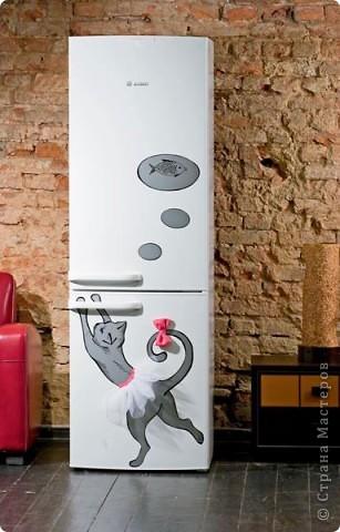 Вот так украсила свой холодильник фото 2