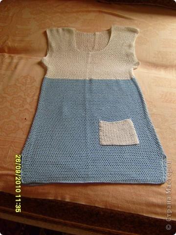 Голубая туника  фото 1