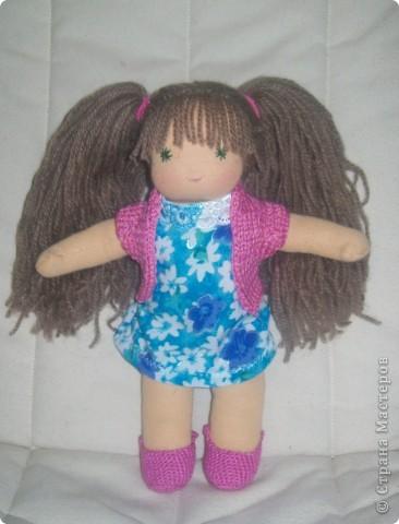 Вальдорфская кукла - Василинка