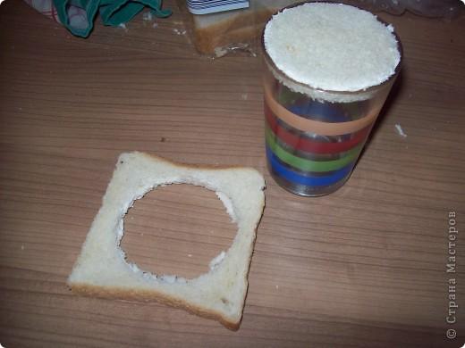 Берём кусочек тостерного хлебушка. фото 3