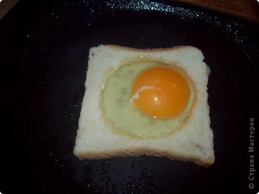Берём кусочек тостерного хлебушка. фото 5