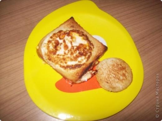 Берём кусочек тостерного хлебушка. фото 6