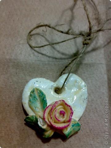 соленая валентинка и открыточка бумажная. фото 2