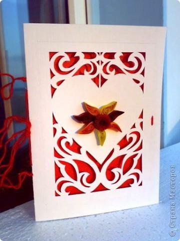 соленая валентинка и открыточка бумажная. фото 4