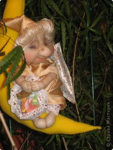 Первый ангелок был оставлен себе, пришлось делать еще одного :)) фото 5