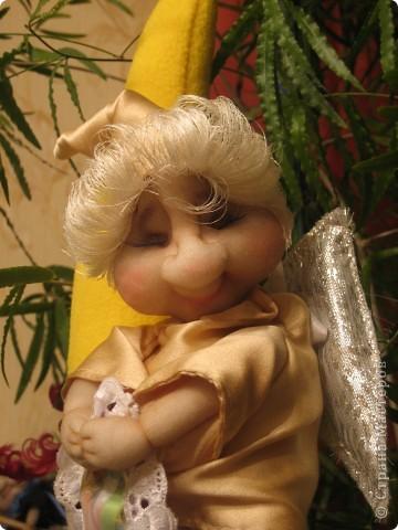 Первый ангелок был оставлен себе, пришлось делать еще одного :)) фото 6