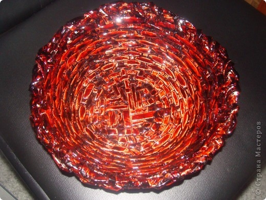 Когда увидела плетение из журнальных трубочек, загорелась, но не так все просто оказалось...