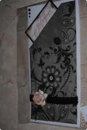 случайно цена попала в кадр :) Вспомнила ночью, что не сфоткала открытку, а рано утром нужно было уже отвозить заказчику ... фото 2