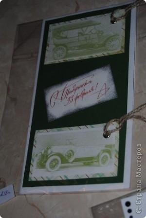 случайно цена попала в кадр :) Вспомнила ночью, что не сфоткала открытку, а рано утром нужно было уже отвозить заказчику ... фото 3