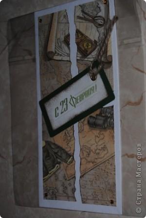 случайно цена попала в кадр :) Вспомнила ночью, что не сфоткала открытку, а рано утром нужно было уже отвозить заказчику ... фото 4