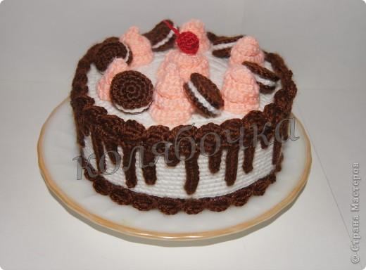 """Замечательный тортик """"испекла"""",красивый,вкусный,функциональный. фото 1"""