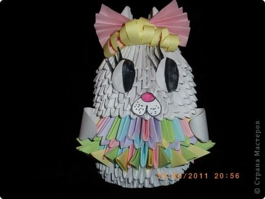 """Модульное оригами """"Кролик Виктория"""""""