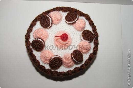 """Замечательный тортик """"испекла"""",красивый,вкусный,функциональный. фото 2"""