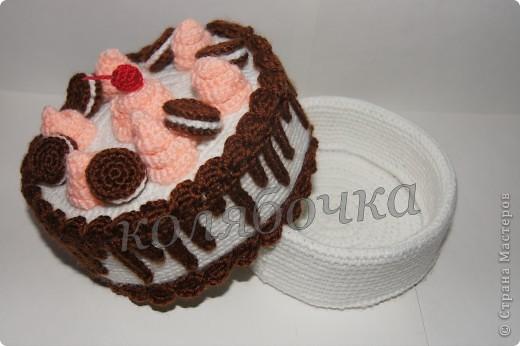 """Замечательный тортик """"испекла"""",красивый,вкусный,функциональный. фото 3"""
