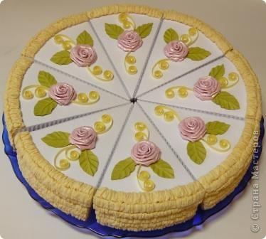 Торт праздничный фото 1