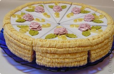 Торт праздничный фото 2