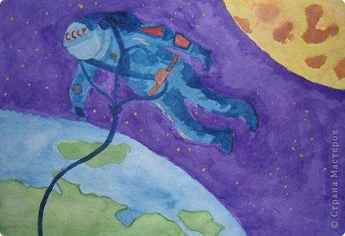 рисую космос