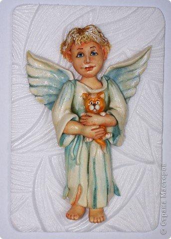 Эти ангелочки делались на заказ в семью, где есть три сыночка и ни одной дочки))) Это старший сын... фото 5