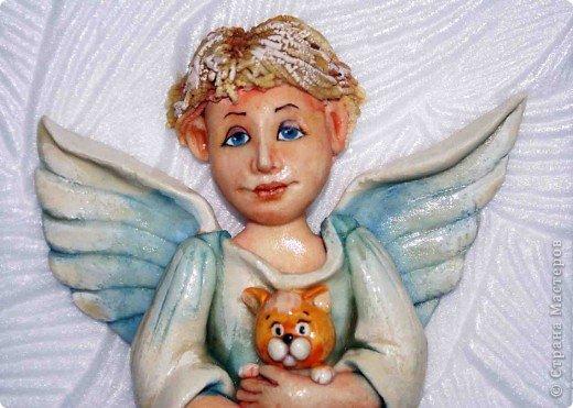 Эти ангелочки делались на заказ в семью, где есть три сыночка и ни одной дочки))) Это старший сын... фото 4