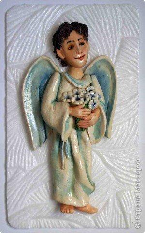Эти ангелочки делались на заказ в семью, где есть три сыночка и ни одной дочки))) Это старший сын... фото 9