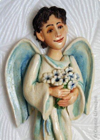 Эти ангелочки делались на заказ в семью, где есть три сыночка и ни одной дочки))) Это старший сын... фото 8