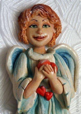 Эти ангелочки делались на заказ в семью, где есть три сыночка и ни одной дочки))) Это старший сын... фото 10
