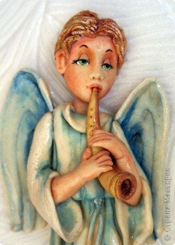 Эти ангелочки делались на заказ в семью, где есть три сыночка и ни одной дочки))) Это старший сын... фото 1