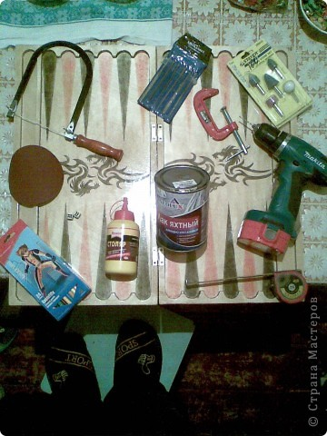 Как сделать фишки для нард фото 484