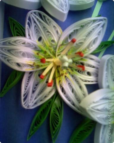 Опять лилии и спасибо Пылинке за мк! фото 2