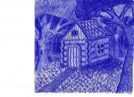 рисунки ручкой фото 1