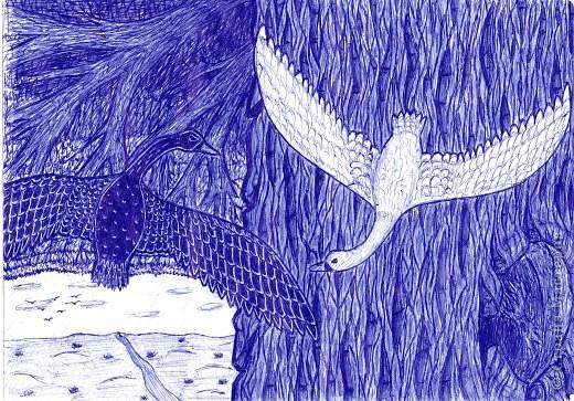 рисунки ручкой фото 4