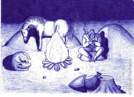 рисунки ручкой фото 6