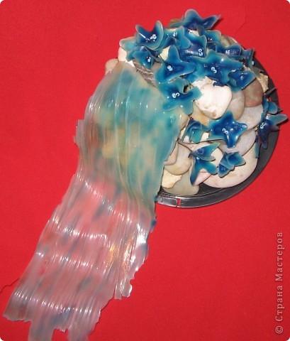 Изделие цветочный водопад клей фото 2