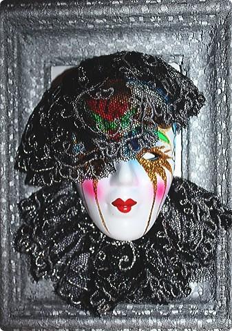 панно маска