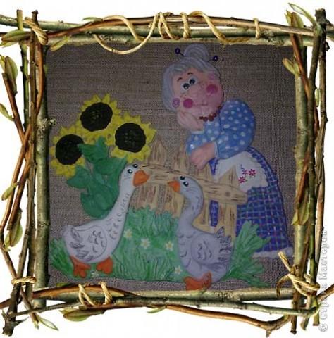 Вот они-бессменные герои детских потешек и бабусины любимцы: Один серый, другой-белый, Два весёлых гуся! фото 1