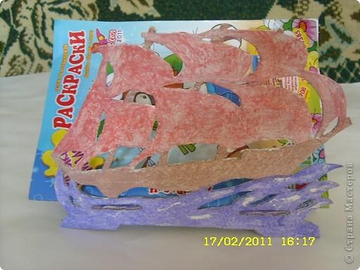 Вместо фанеры взяли картон,держит не очень хорошо,только что-то лёгкое типа салфеток фото 2