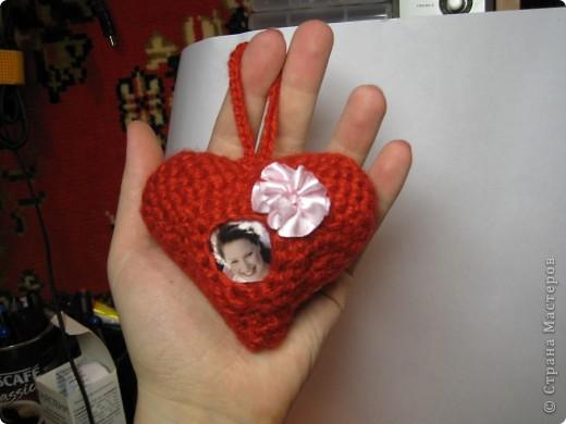 Вязанное сердце фото 1