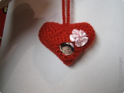 Вязанное сердце фото 2