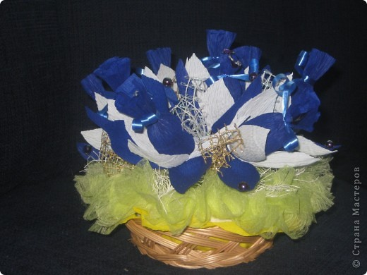Синий букетик фото 2