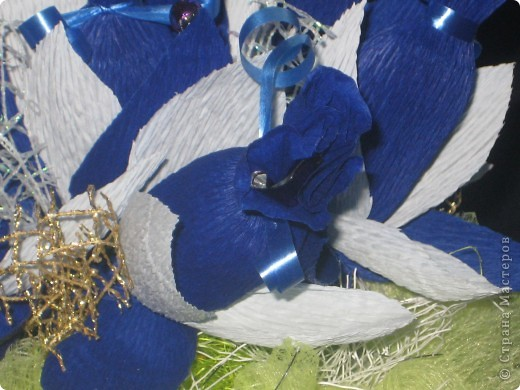 Синий букетик фото 3