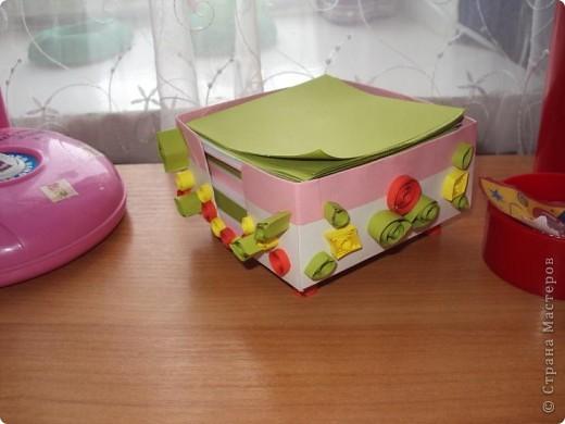 Коробочка-бокс для бумажек. фото 2