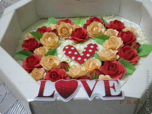 Валентинка для доченьки. фото 10