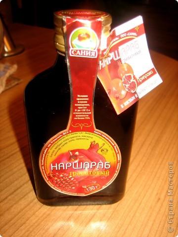сладкий гранатовый напиток со специями фото 2