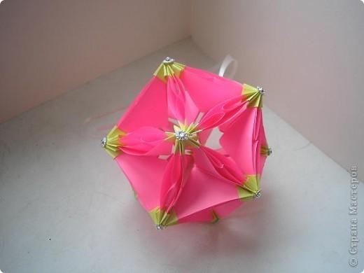 Кусудама Bubble Drop Автор: Автор - Miyuki Kawamura фото 1