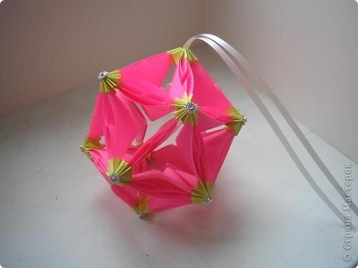 Кусудама Bubble Drop Автор: Автор - Miyuki Kawamura фото 3